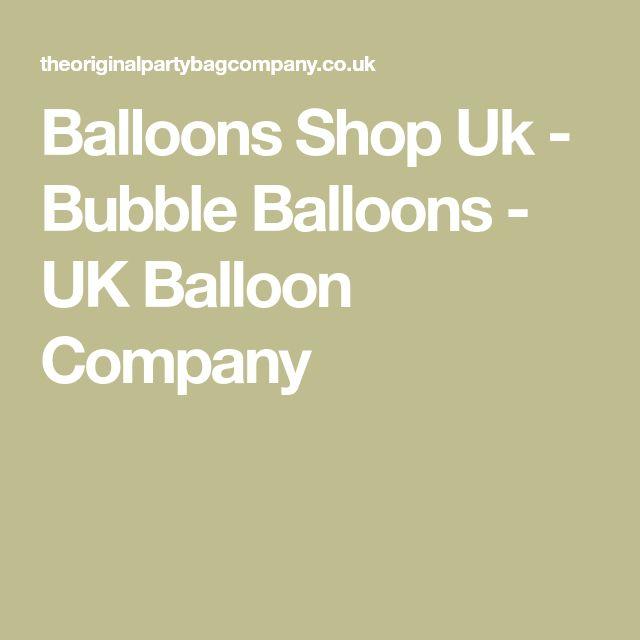 Balloons Shop Uk - Bubble Balloons - UK Balloon Company