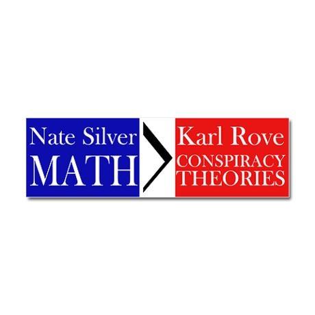 Silver math rove conspiracy car magnet 10 x 3 7 00