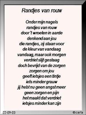 11randjesvanrouw Mooie Tekst Begrafenis Gedichten