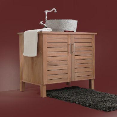 65 best Petite sdb à aménager dans chambre images on Pinterest - teck salle de bain sol
