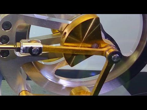 Extremly smooth Stirling Engine - YouTube