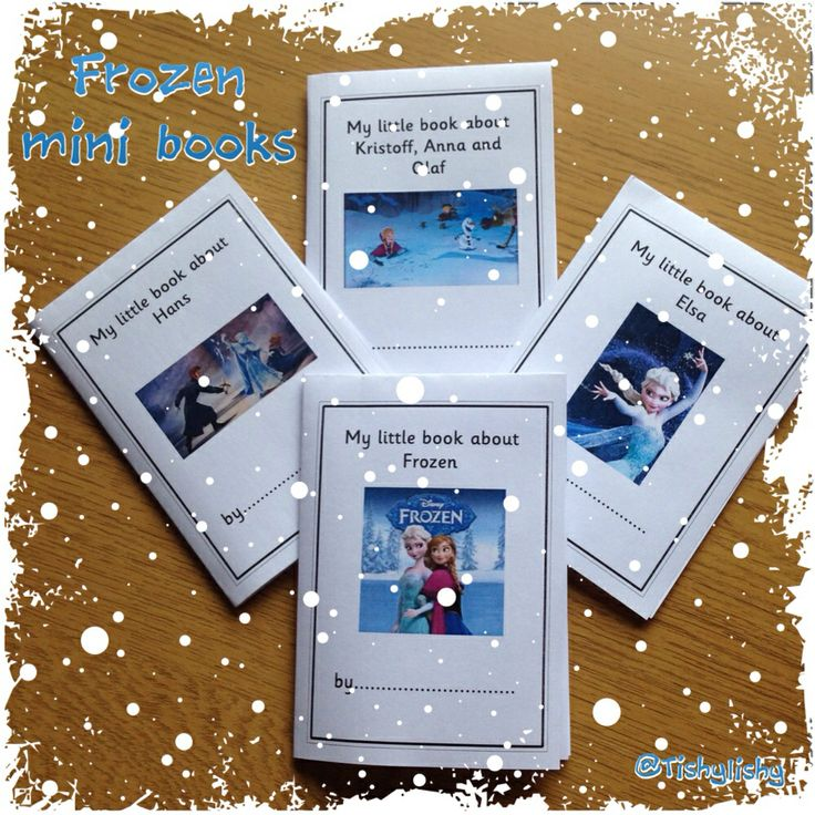 Frozen mini books