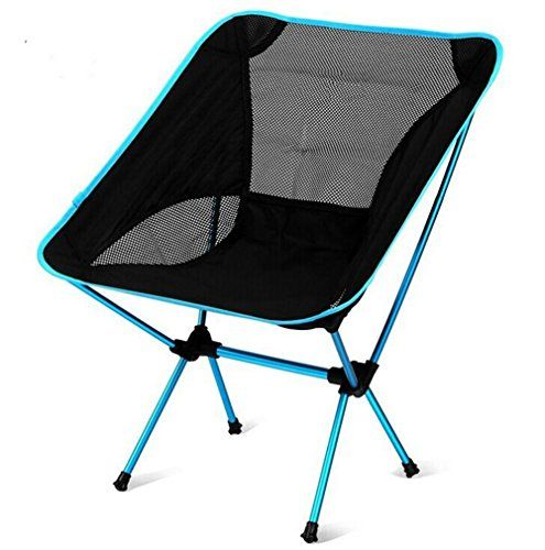 LazyDaze Hammocks Portable Ultralight Camping Chair Outdoor Folding Chairs Turquoise >>> Check out this great product.