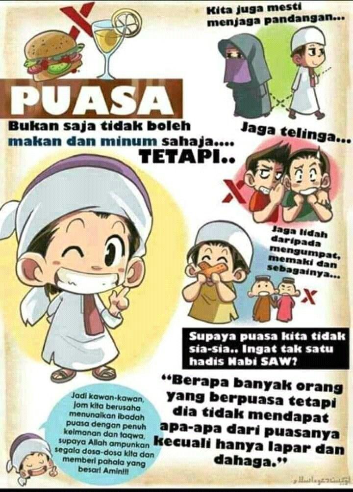 Pin oleh Kinara Shaa di Ramadhan Gambar lucu, Kartun