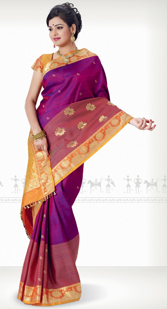 Chandraleela Kanchipuram Saree http://www.harinisilks.com/chandraleela-kanchipuram-saree.html