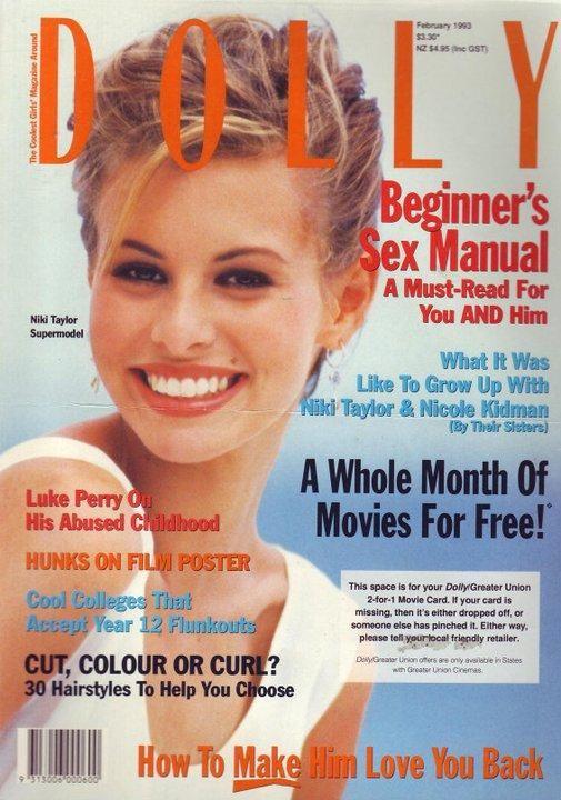 Dolly Feb 1993 | Niki Taylor