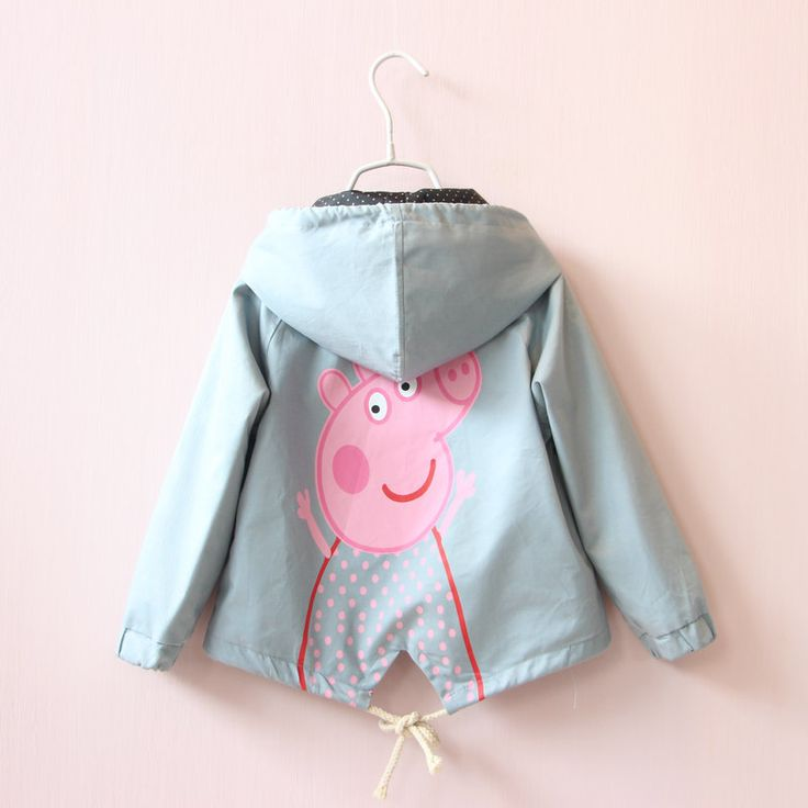 Aliexpress.com : Buy New Arrival Kids Clothes Spring & Autumn Cartoon Coats Baby Girls&Boys Outerwear Kids Zipper Sport Jacket Hooded Coat 2 8 Years from Reliable baby coat autumn suppliers on Children,MOM,DAD,FAMAILY Store