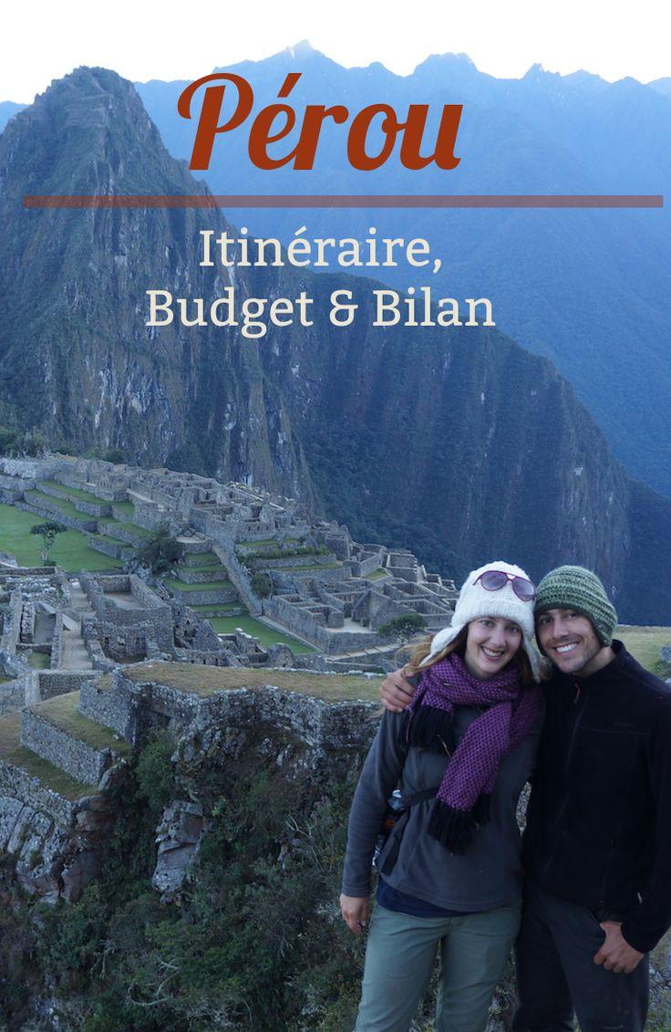 Le trekking c'est bon pour la santé certes, mais pour le budget aussi! On vous dit tout sur nos dépenses au Pérou et pour visiter le Machu Picchu!