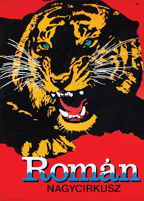 Romanian Grand Circus (1967) - For more circus posters take a look at our auction catalogue: http://budapestposter.com/upload/angol_tanulm_kat_2014.pdf