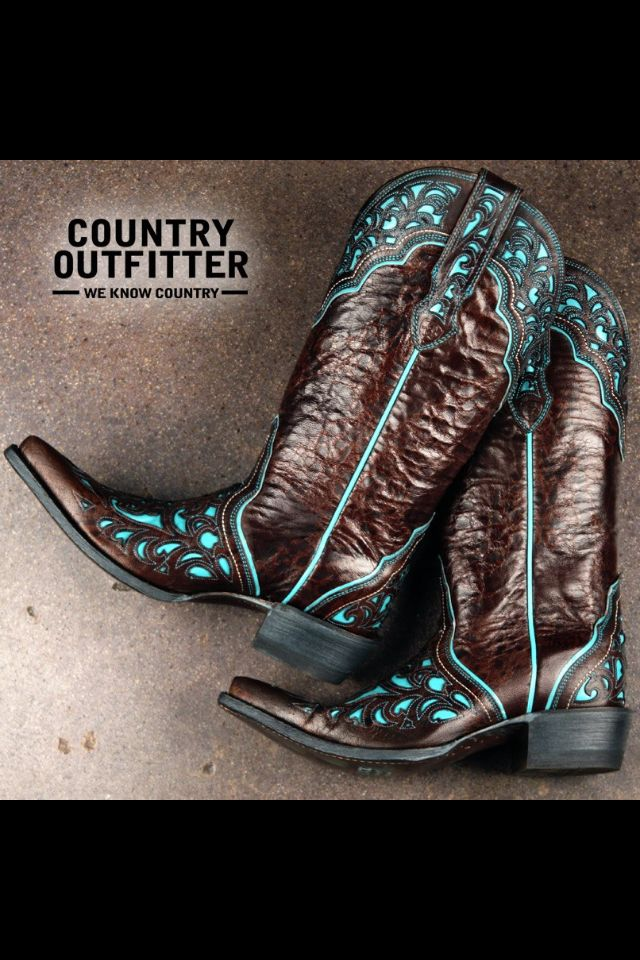 Sooo LOVE this boots!!! #cowgirlboots #countrygirl #country For more Cute n' Country visit: www.cutencountry.com and www.facebook.com/cuteandcountry