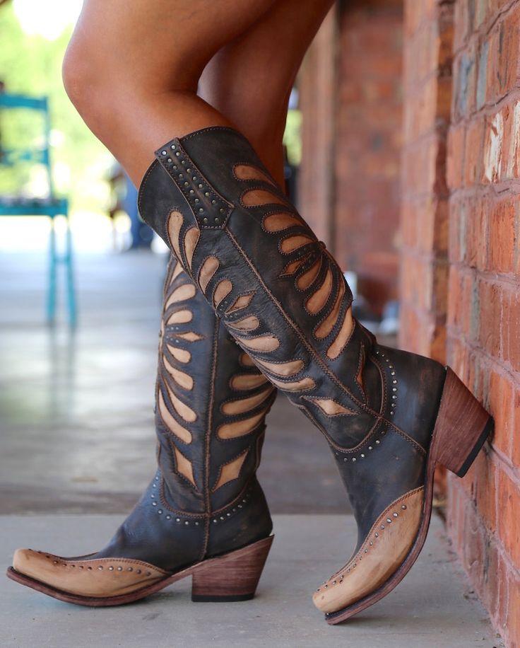 Rivertrail Mercantile - Liberty Black Tall Vintage Cafe Boots LB711510, $310.00 (http://www.rivertrailmercantile.com/liberty-black-tall-vintage-cafe-boots-lb711510/)