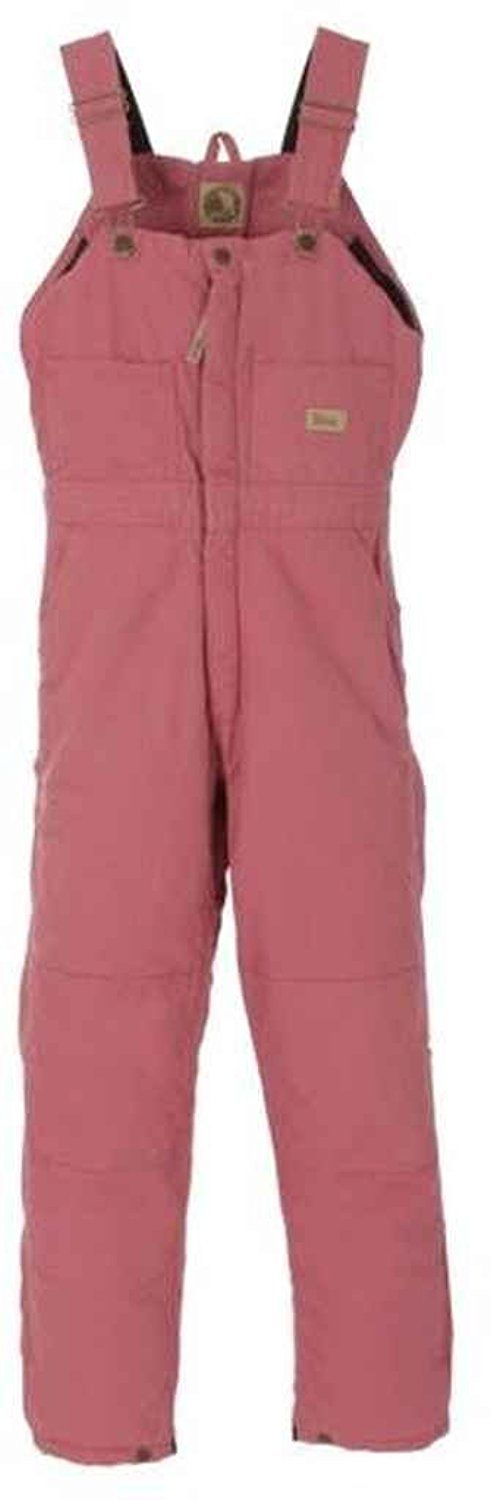 Berne Apparel WB515DLLT400 Ladies Washed Insulated Bib Overall, Dark Lilac - Medium -- You can find out more details at the link of the image.