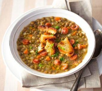 Čočková polévka (www.albert.cz/recepty)