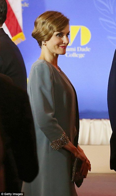 Queen Letizia Brings A Touch Of Great Gatsby To Miami. Miami Dade CollegeThe  ... Part 69