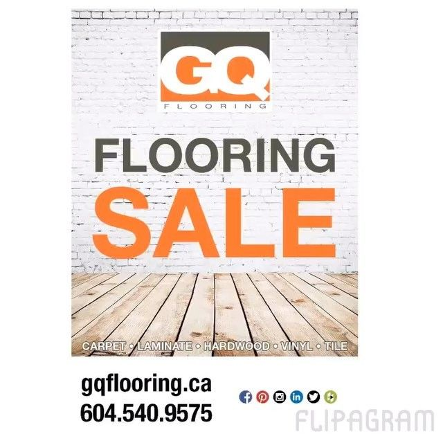 Check out our latest flyer and stop by our showroom for your flooring today!!