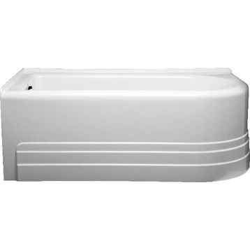 "Americh Bow 6032 Left Handed Tub (60"" x 32"" x 21"")"