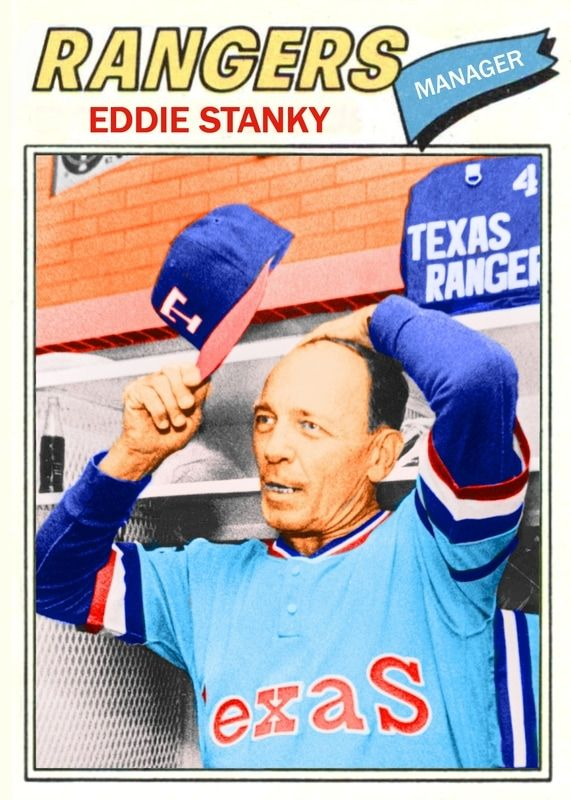 Image Result For Images Of Eddie Stanky Texas Rangers