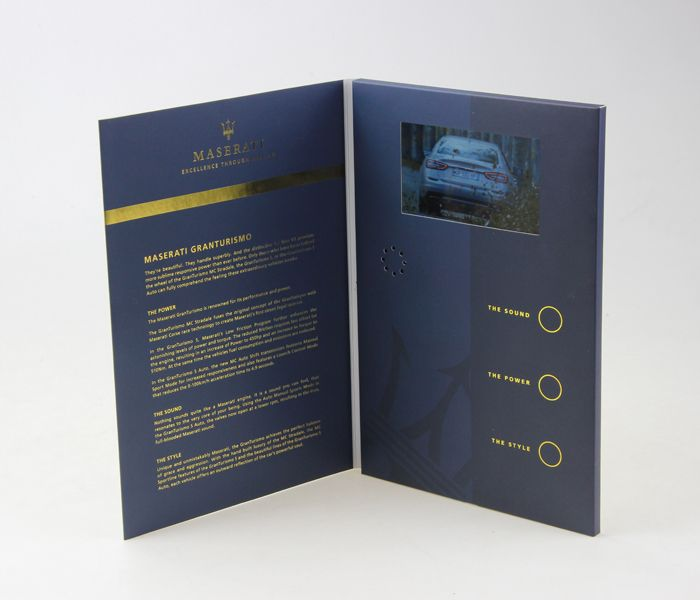 Best Video Brochure Images On   A Printing And