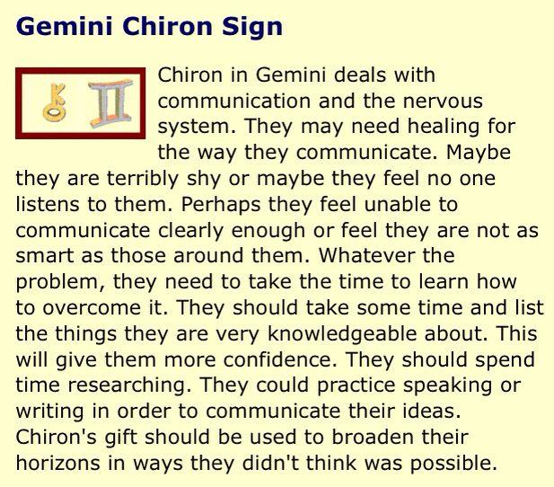 Gemini Chiron - alwaysastrology.com