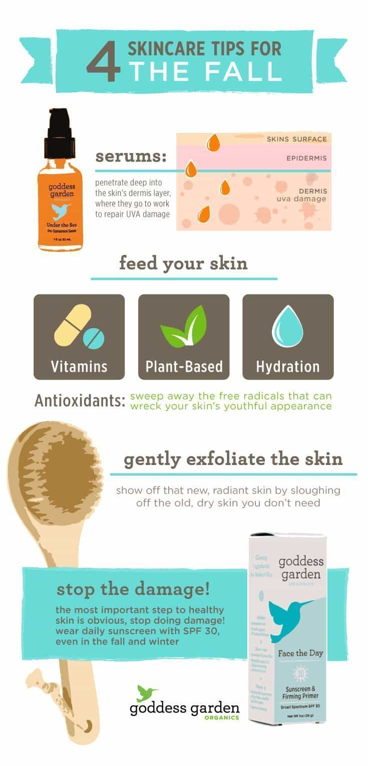 9 skincare tips to help you take care of your skin this fall