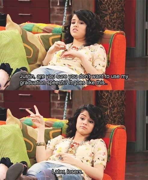 Alex Russo haha! Love her!