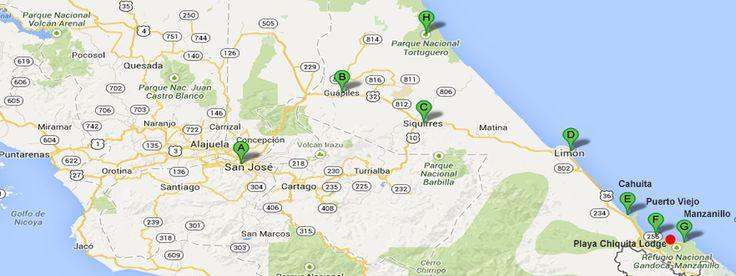 Costa Rica Tours Karibik Rundreise, 8 Nächte und 7 Tage