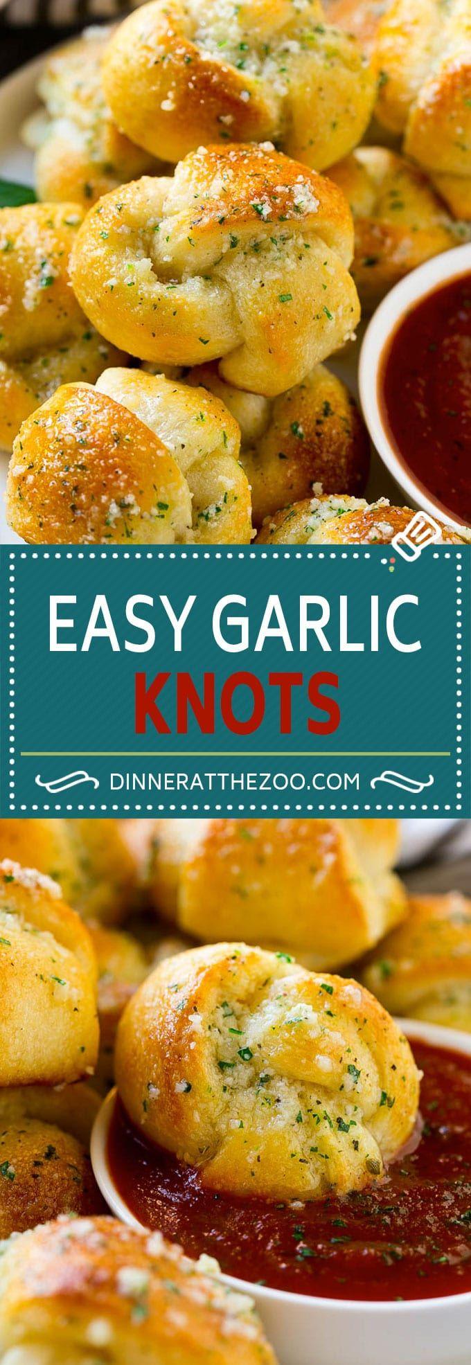 Garlic Knots Recipe | Garlic Rolls | Garlic Butter Rolls | Garlic Bread Recipe