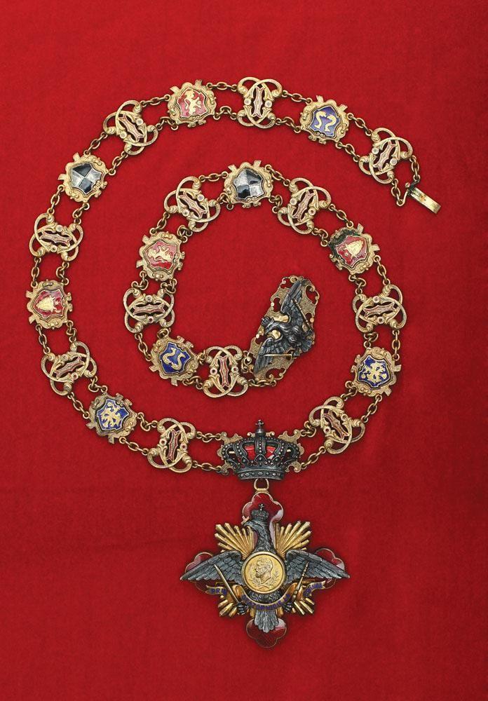 Order of Carol I (Romania) - Collar