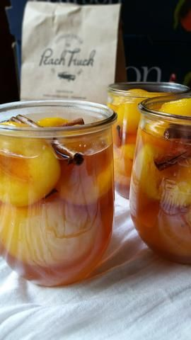 Pickled Peaches Makes 3 Quarts Some folks say that Picked Peaches are one of those things that you either love or you don't. Well, we're not so sure we agree wi