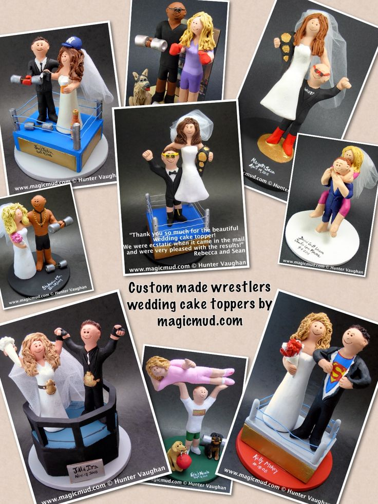 wedding cake toppers by www.magicmud.com 1 800 231 9814 magicmud@magicmud... blog.magicmud.com twitter.com/... $235 #wrestlers #WWF #Wrestlingwedding #wedding #cake #toppers #custom #personalized #Groom #bride #anniversary #birthday #weddingcaketoppers #caketoppers #figurine #gift http://custom-wedding-cake-toppers.tumblr.com/ http://instagram.com/weddingcaketoppers https://www.facebook.com/PersonalizedWeddingCakeToppers https://twitter.com/caketoppers