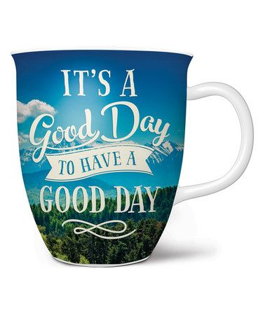 Another great find on #zulily! 'It's a Good Day' Coffee Mug #zulilyfinds