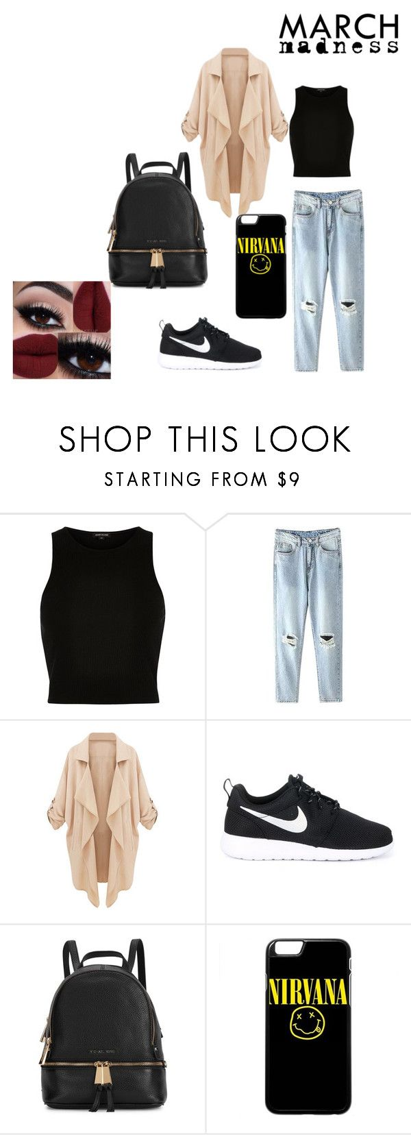 """""""#Casual"""" by dianacrystal on Polyvore featuring мода, River Island, NIKE и Michael Kors"""