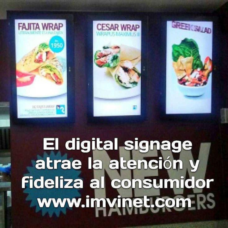 Atrae y fideliza tus clientes con Menús Digitales Info@imvinet.com