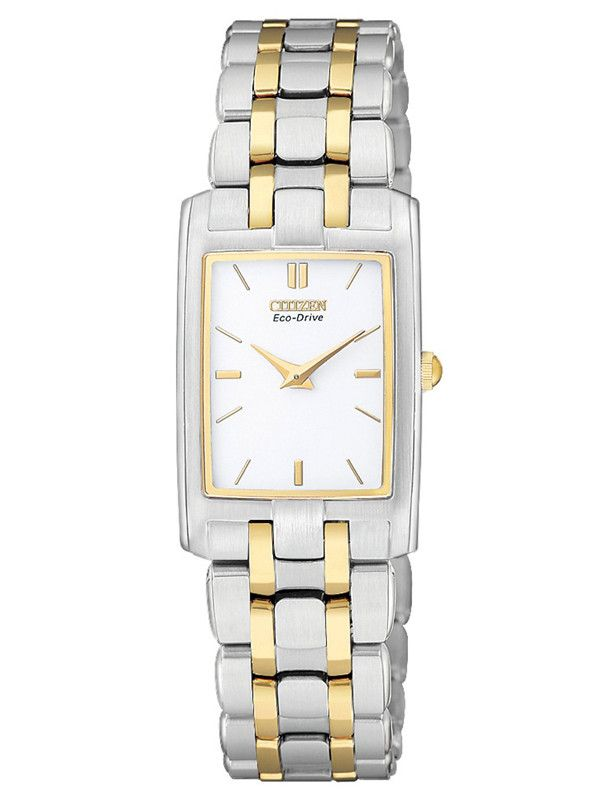 Citizen EG3184-50A Women's Stiletto Two-Tone Eco Drive Quartz Watch