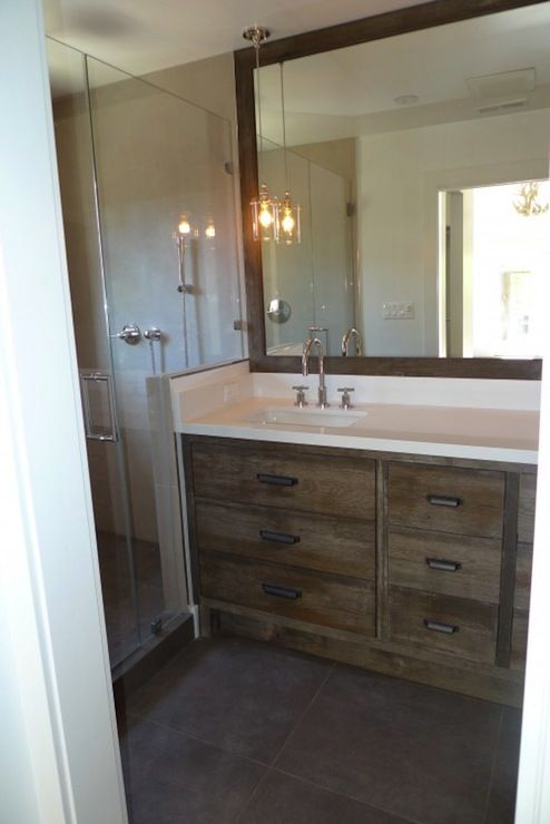 Best 25 rustic bathroom designs ideas on pinterest - Rustic vanity cabinets for bathrooms ...