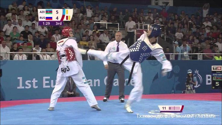 BEIGI HARCHEGANI (AZE) – GAUN (RUS)   FINAL MEN'S-80kg   TAEKWONDO WTF   BAKU 2015 EUROPEAN GAMES  #tkd2015 #Баку2015 #Baku2015 #тхэквондо #taekwondo #EuropeanGames #Европейскиеигры ткд #тхэквондоВТФ #sport #martialarts #спорт #боевыеискусства
