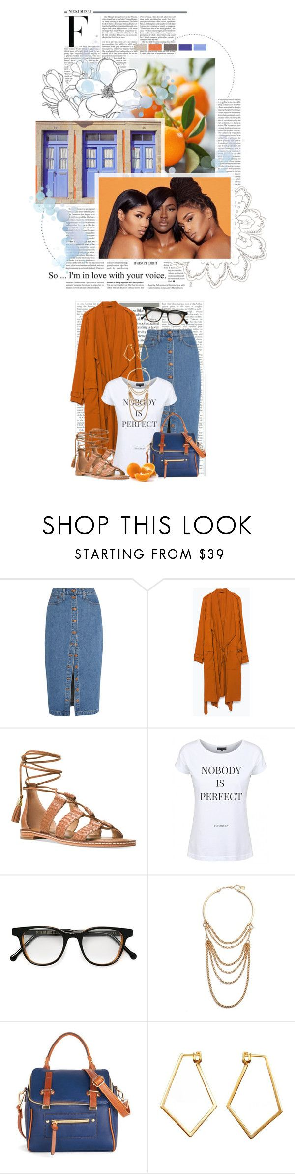 """""""ONLY 1 day left in the Color Gallery! Contest"""" by crystal85 ❤ liked on Polyvore featuring Nicki Minaj, Madewell, Zara, Michael Kors, Dead Legacy, Cutler and Gross, Karine Sultan and Dutch Basics"""