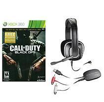 Call of Duty Black Ops and X95 Plantronics Wireless Headset bundle