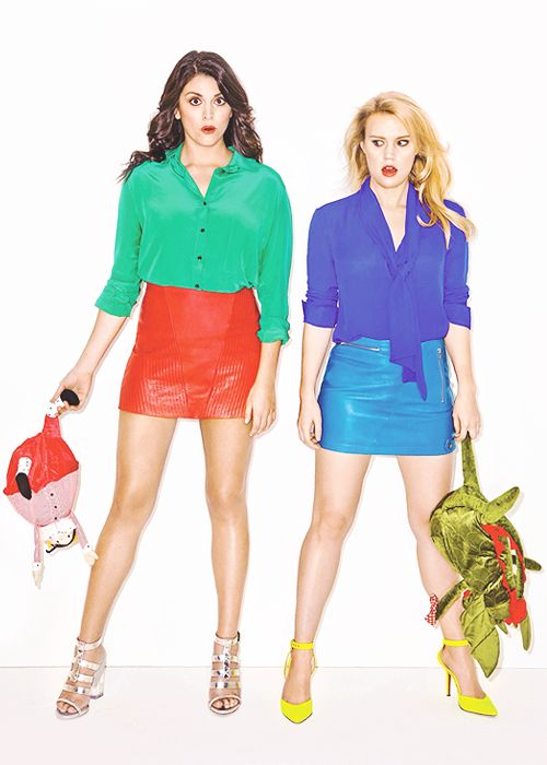 Cecily Strong, Kate Mckinnon, why are you so amazing.