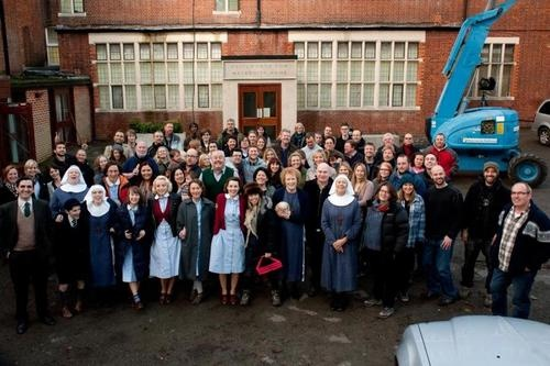 CALL THE MIDWIFE  -this show has such great storylines- based on real life, fantastic acting, gritty East London setting, good musical score.... Everything!! Hope it can keep going a while longer!