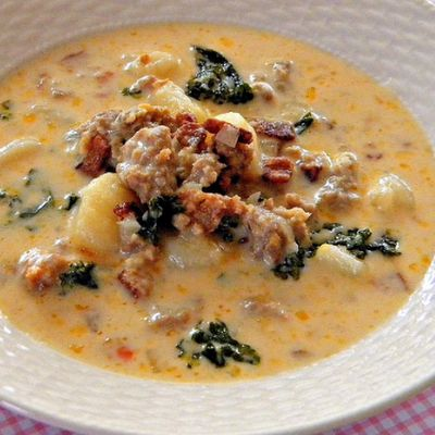 Zuppa Toscana Soup. Dad loves this soup from Olive Garden.
