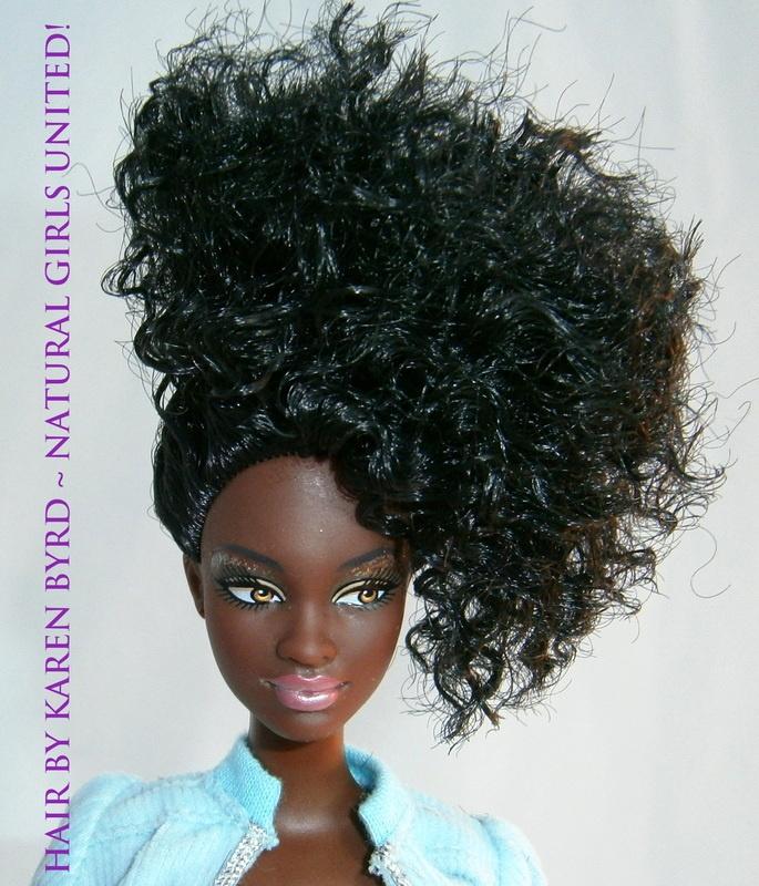 Natural Hair Doll #12