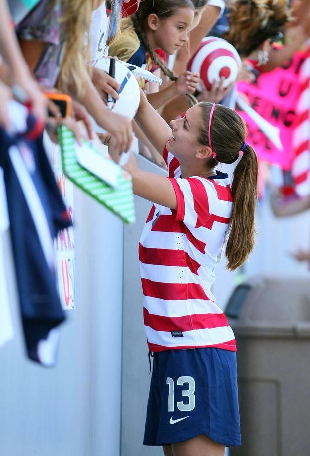 25 Reasons Why Alex Morgan Is The Perfect Lady. She is my role model and I want to be just like her when I grow up