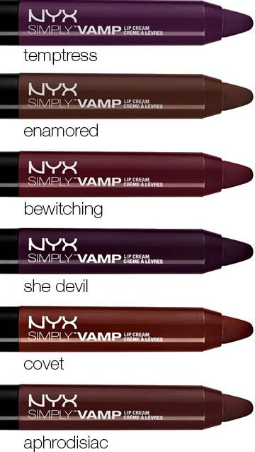 It's a red so deep it's almost purple. A must for fall... One of my favorite brands for lips NYX this is a must have