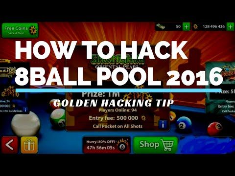 How to Hack 8 Ball Pool 2016 by Multiplayer - 8Ball Pool Golden Hacking Tip…
