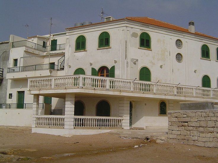 Marinella - La casa del Commissario Montalbano,    Author: Marco Medaglia,   Location: Punta Secca, a district of Santa Croce Camerina