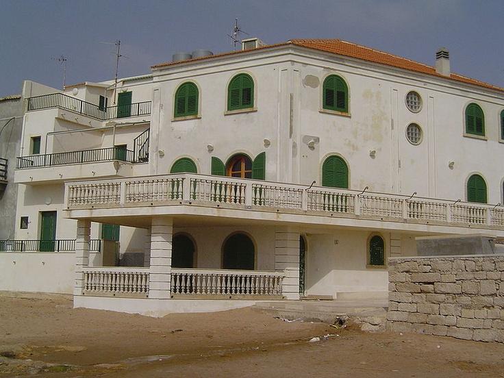 Marinella - La casa del Commissario Montalbano,    Author: Marco Medaglia,   Location: Punta Secca, a district of Santa Croce Camerina
