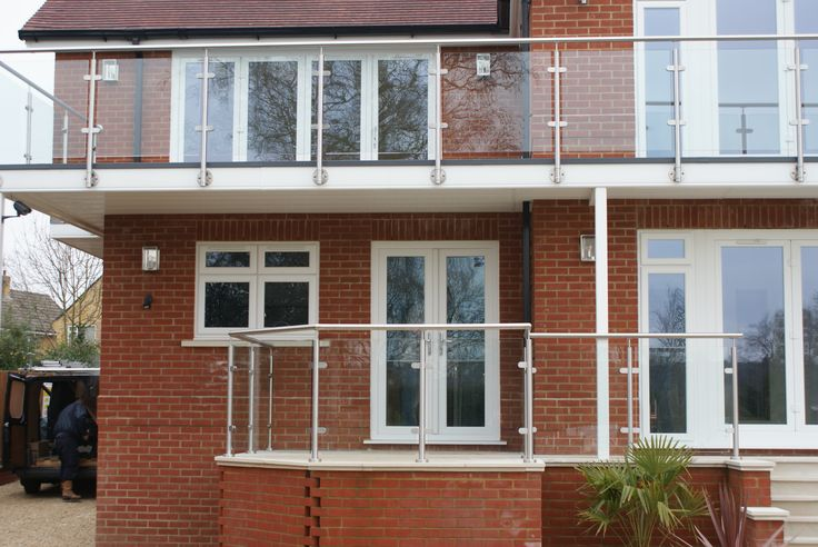 Professional Glass Balustrade, perfect addition to domestic properties.