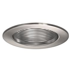 Wac Lighting Brushed Nickel Recessed Trim ... INDUSTRIAL ??