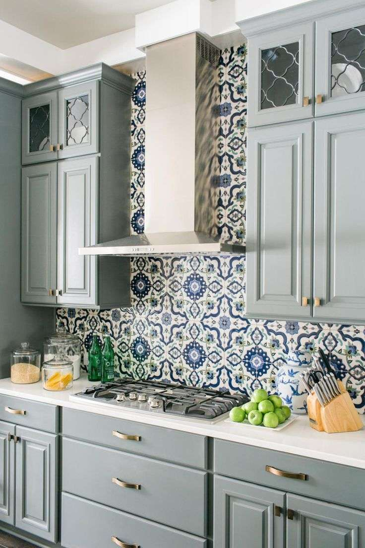 Kitchen Backslash Italian Tile Murals Can I Paint My Tile Floor